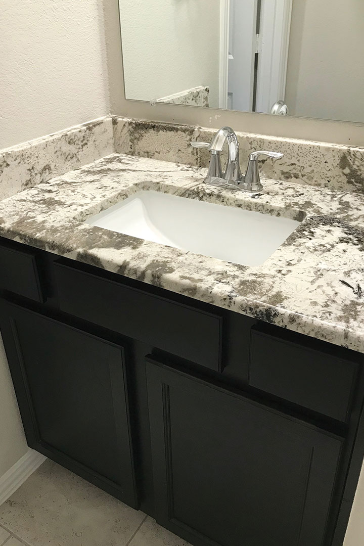 kids bathroom counters after