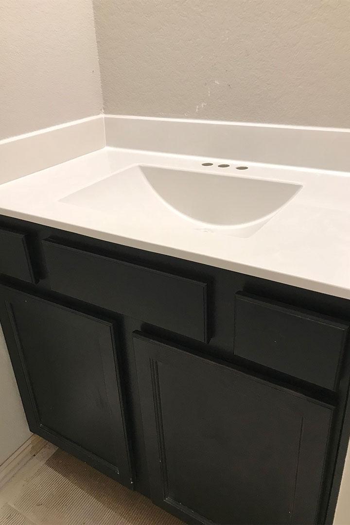 kids bathroom counters before
