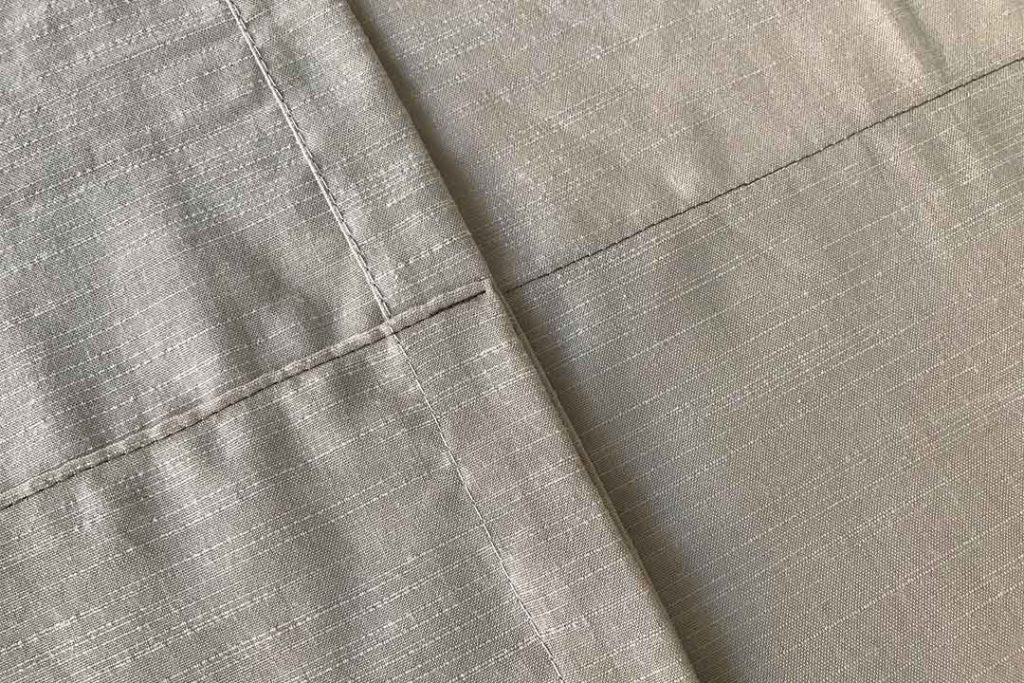 how to sew a curtain hem