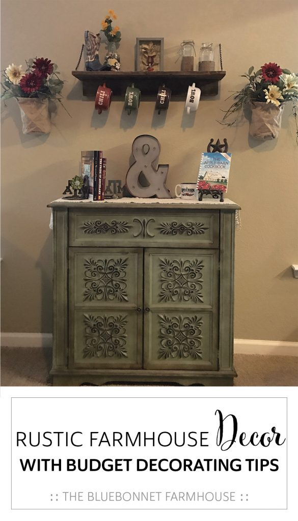 rustic farmhouse decor with budget decorating tips